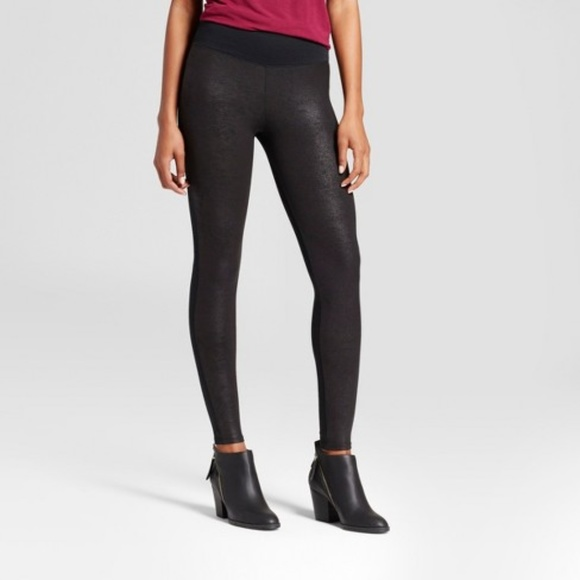 186e693a990ac Assets By Spanx Pants - ASSETS by Spanx Women's Faux Leather Front Legging